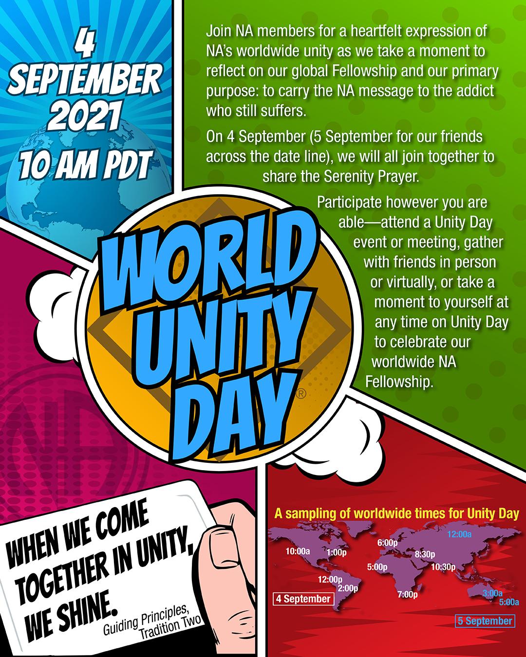 NA World Unity Day