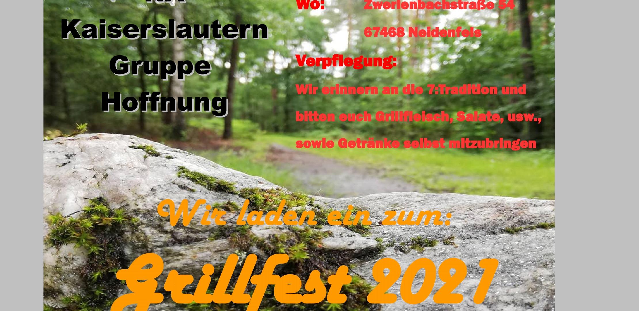 Grillfest in Neidenfels (im Pfälzerwald)